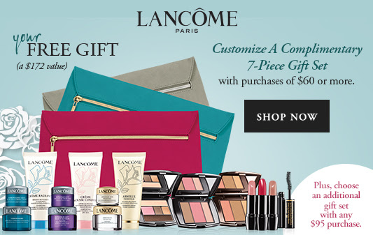 Bergdorf Goodman Beauty Event 2017, Lancome Customized Gift with ...