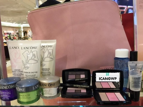 Nordstrom Spring Beauty Trend Event 2017 lancome gift with purchase see more at icangwp Beauty blog your gift with purchase destination