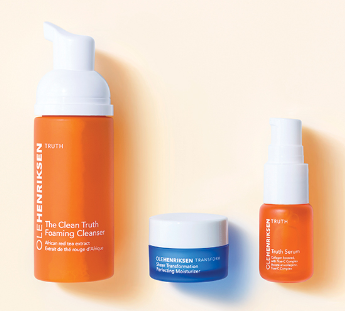 ole henriksen Free Clean and Bright Deluxe Mini Regimen Set mar 2017 see more at icangwp blog