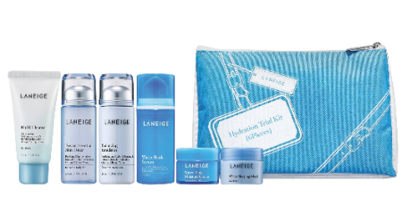 target Laneige Hydration Trial Kit 6pcs mar 2017