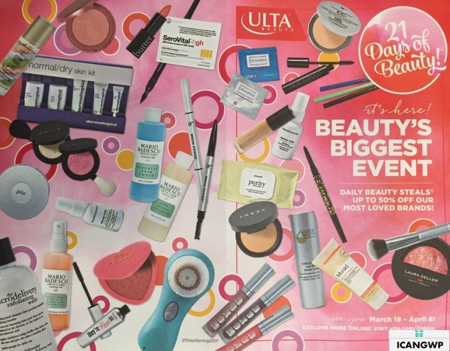 ulta 21 days of beauty event 2017 spring mar 2017 front see more at icangwp blog your gift with purchase destination.jpg.jpg