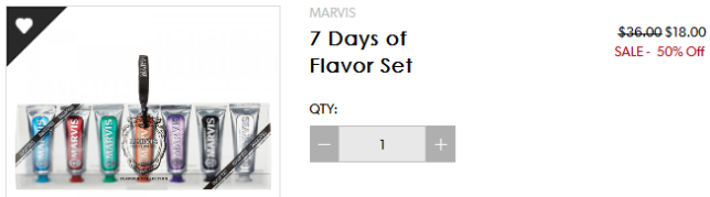 7 Days of Flavor Set Marvis b glowing apr 2017 see more at icangwp blog