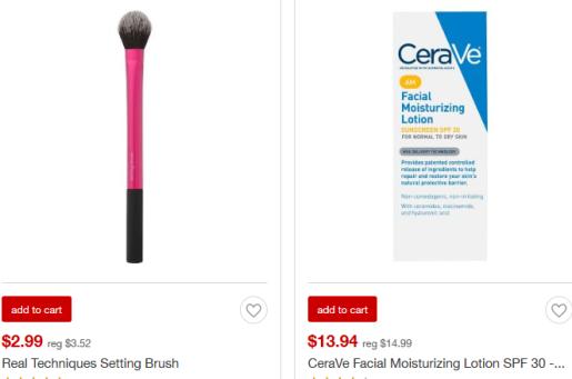 Beauty Target