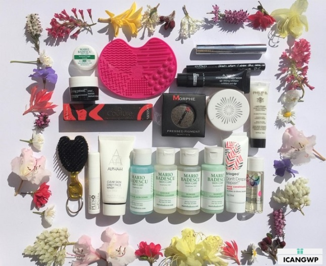 beautybay goody bag review by IcanGWP blog your gift with purchase destination haul