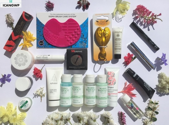 beautybay goody bag review by IcanGWP blog your gift with purchase destination