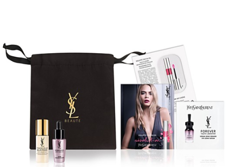 bloomingdale's Gift with any 125 Yves Saint Laurent beauty purchase apr 2017 see more at icangwp blog