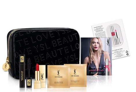 bloomingdale's Gift with any 175 Yves Saint Laurent beauty purchase apr 2017 see more at icangwp blog