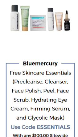 Bluemercury coupon essentials Beauty Treats on Us may 2017 see more at icangwp blog