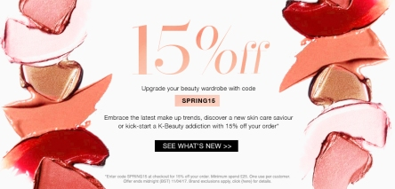 cult beauty 15% off spring apr 2017 see more at icangwp blog