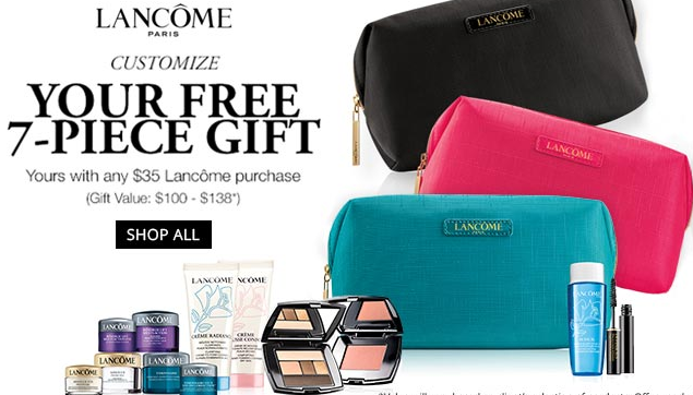 Dillards lancome gwp apr 2017 see more at icangwp blog