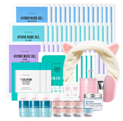 memebox Cleansing and Anti Blemish Mask Vault Box apr 2017 see more at icangwp blog