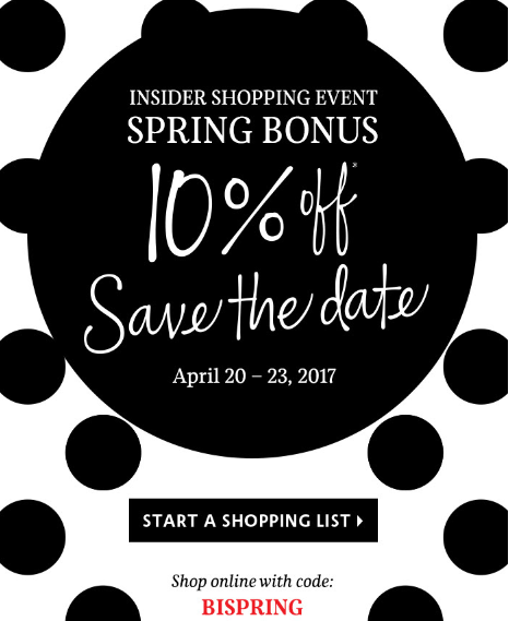 sephora 10 off insider shopping event apr 2017 see more at icangwp blog