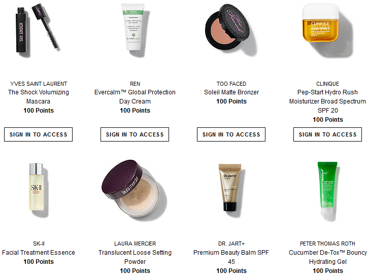 Sephora rewards 100 points 2 apr 2017 see more at icangwp blog