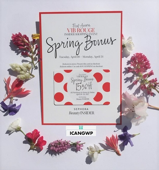 sephora vib rouge spring bonus 2017 see more at icangwp beauty blog