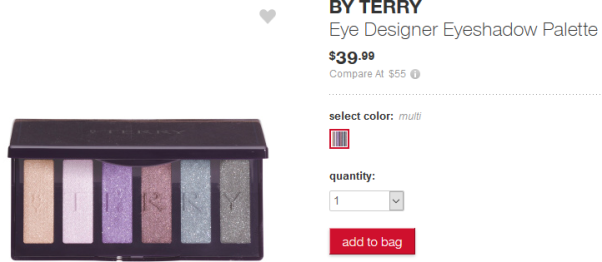 tj max by terry Eye Designer Eyeshadow Palette Makeup apr 2017 see more at icangwp blog
