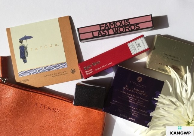 barneys beauty box review by IcanGWP beauty blog your gift with purchase destination all