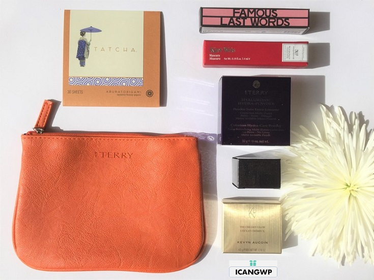 barneys beauty box review by IcanGWP beauty blog your gift with purchase destination haul