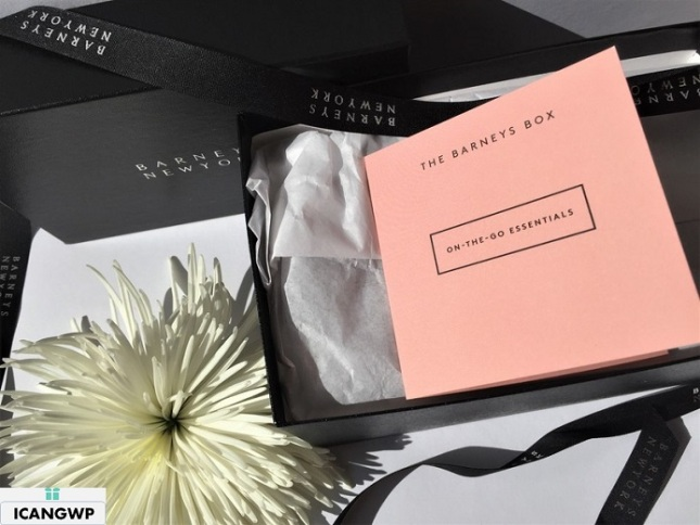 barneys beauty box reviews by IcanGWP beauty blog your gift with purchase destination