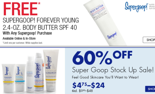 boscov's Beauty Supergoop may 2017 see more at icanwp blog
