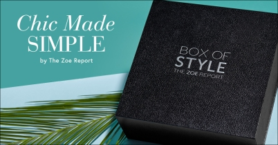 Box of Style The Zoe Report summer box 2017 see more at icangwp blog