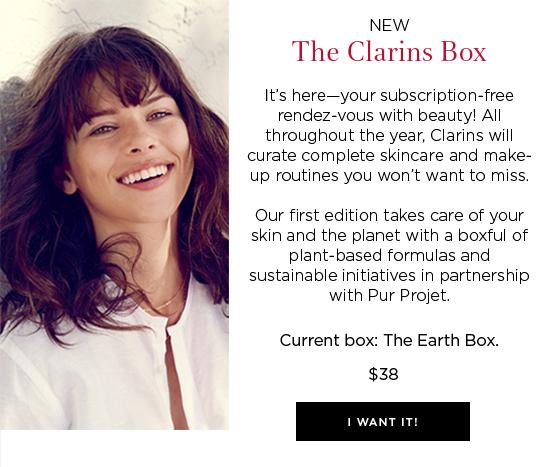 clarins box may 2017 see more at icangwp blog