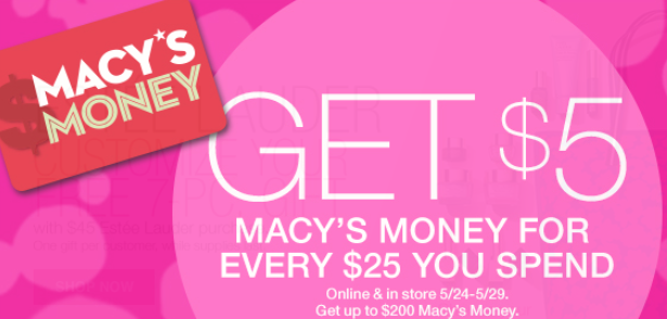 macy's 5 macy's money with every 25 may 2017 see more at icangwp blog.png