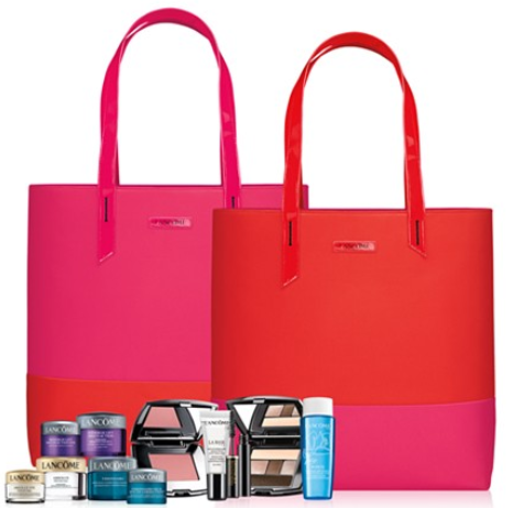 macy's  FREE 6 Pc. gift with any  35 Lancôme purchase  Gift Value  90  126    Gifts with Purchase see more at icangwp blog.png