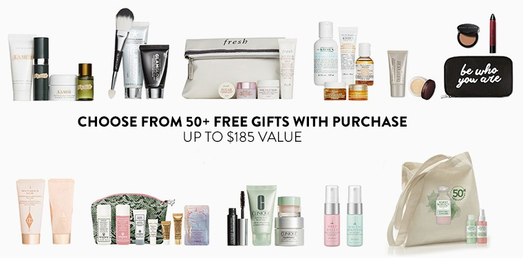 HOT* Nordstrom Beauty Event 50+ Gift with Purchase, 16pc Sample ...