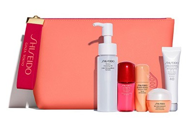 and Urban Environment UV Protection Cream SPF 40 (0.57 oz.) with your purchase of two Shiseido items. An $84 value. This gift will sell out quickly!