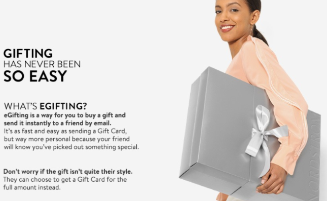 Nordstrom egift mother's day may 2017 see more at icangwp blog