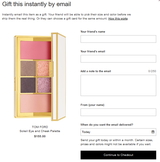 NordstromTom Ford Soleil Eye and Cheek Palette egift 2 may 2017 see more at icangwp blog