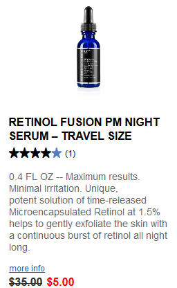 Peter Thomas Roth Clinical Skin Care Travel Sizes retinol fusion may 2017 see more at icangwp blog