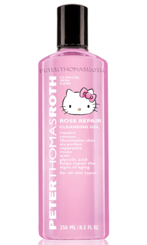 Peter Thomas Roth HELLO KITTY ROSE REPAIR cleansing GEl may 2017 see more at icangwp blog