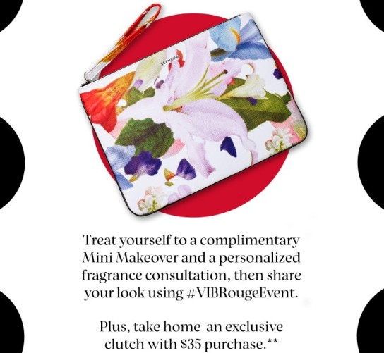 sephora flash your card event clutch may 2017 see more at icangwp blog