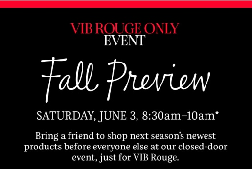 sephora vib rouge shopping event may 2017 see more at icangwp blog