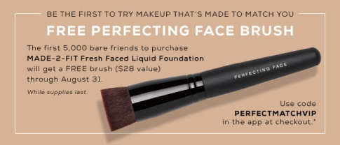 bareminerals free brush w new product jun 2017 see more at icangwp blog