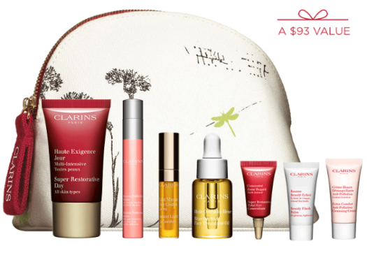 clarins 100 Gift with Purchase  Free Shipping and Samples jun 2017 see more at icangwp blog.png
