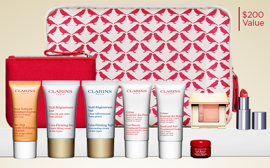Clarins  For Email Subscribers Only  The Ultimate Beauty Gift  200 gift w 100 jun 2017 see more at icangwp blog.png