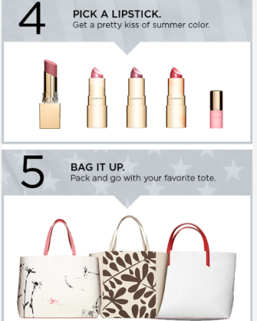 Clarins Set off Sparks on July 4th with a FREE Beauty Gift 2