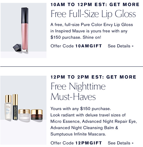 Estee Lauder 2 Hours Only Free Full Size and More with your purchase jun 2017 see more at icangwp blog