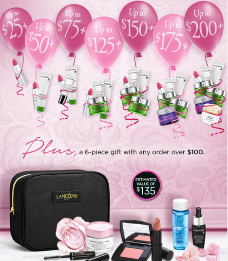 Lancome  Amazing  A 13 piece Gift. A  294 Value jun 2017 see more at icangwp blog.png