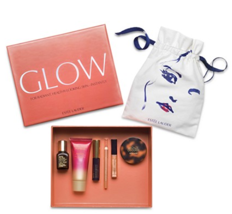 macy's Choose your FREE 6 pc. Beauty In A Box Gift with any 37.50 Estée Lauder purchase glow jun 2017 see more at icangwp blog
