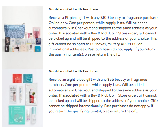 Nordstrom double gwp jun 2017
