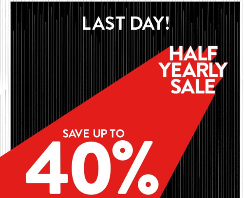 nordstrom In case you missed it FINAL HOURS of Half Yearly Sale.