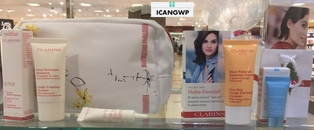 nordstrom summer beauty event 2017 clarins by icangwp beauty blog your gift with purchase destination