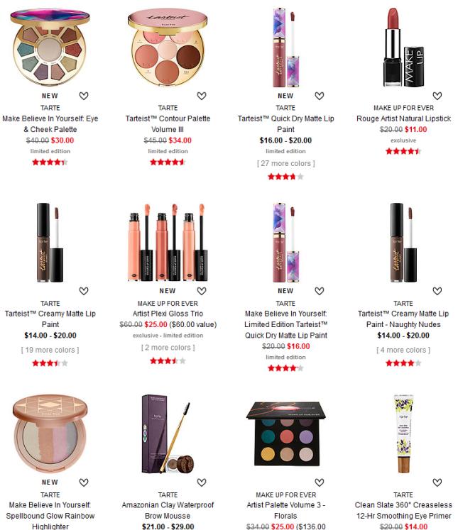 On Sale Now Sephora tarte makeup jun 2017 see more at icangwp blog