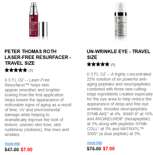 Peter Thomas Roth travel size sale 4th of july jun 2017 see more at icangwp blog