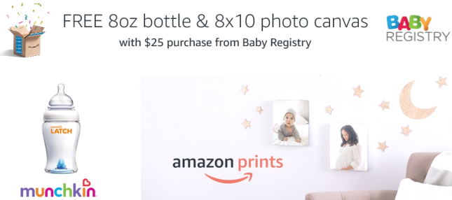 Amazon.com Baby Registry Spend 25 Deal Baby Products