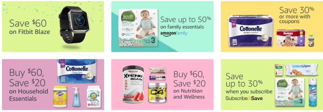 Amazon.com Sales Deals Health Household