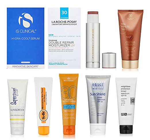 amazon luxury sun care sample box